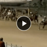 【カメラは見ていた】立ちバックで腰をフリフリしながら『競馬観戦』していたカップルが実況中継にバッチリ映りこむwww