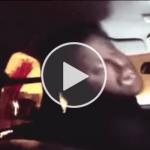 なにコレ超怖い(;・∀・) 密室のタクシーでドライバーが自殺し狼人間になる恐怖ドッキリ!!