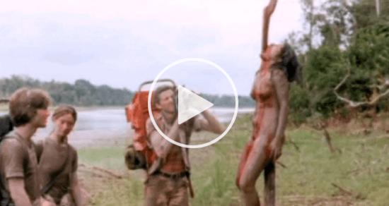 【閲覧注意】映画史上最も論争を巻き起こした『食人族』の映像があまりにも...想像以上にグロかった!!