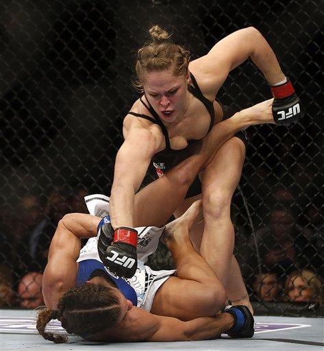 【美人戦士】人類最強女子ロンダ·ラウジーがベーテコレイアを34秒で破壊!!圧倒的強さで勝利ヽ(゚Д゚)ノ