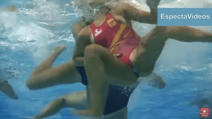 水球の水中は凄かったwww 観客から見えるのは本来水上だけですが、水中のほうが面白い(〃ω〃)