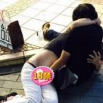 日本の恥さらし!神戸の三宮で撮られたカップル写真が香港で話題に。。。