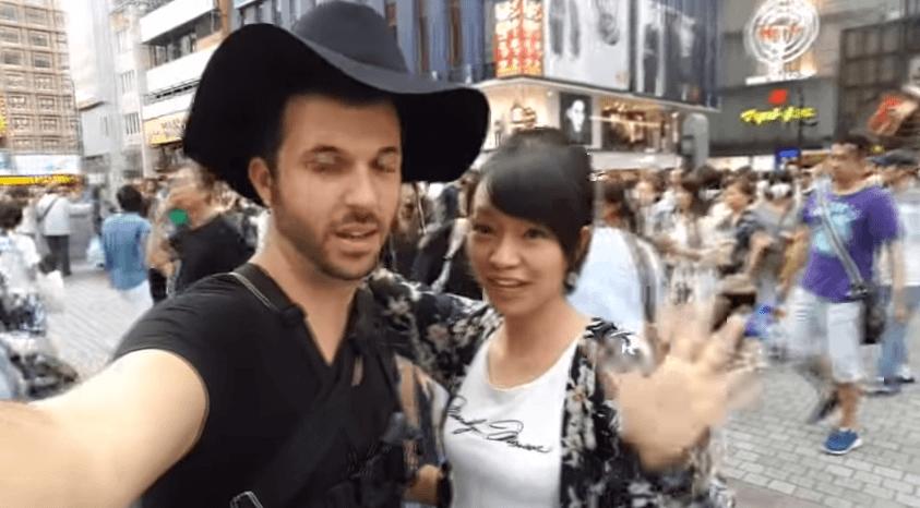 白人が大阪でナンパ!日本人女性はチョロイという動画を公開。多くの女性とラブラブ。ホテルでのシーンも...1