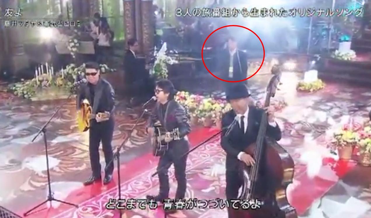 FNS歌謡祭で珍事件?藤井フミヤ、ヒロミ、木梨憲武の3人が歌う「友よ」に+謎の人物が話題に♪7