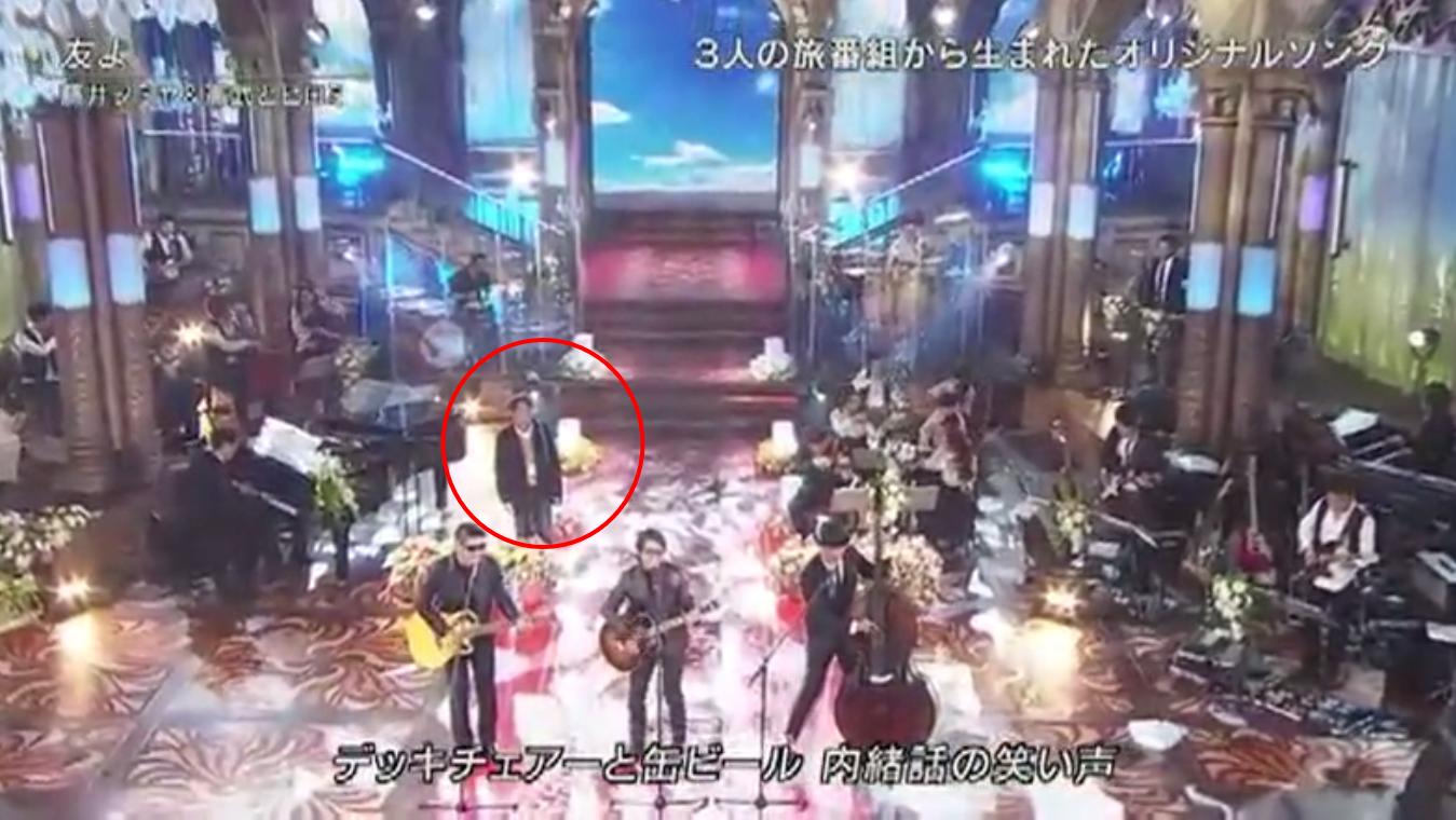 FNS歌謡祭で珍事件?藤井フミヤ、ヒロミ、木梨憲武の3人が歌う「友よ」に+謎の人物が話題に♪4