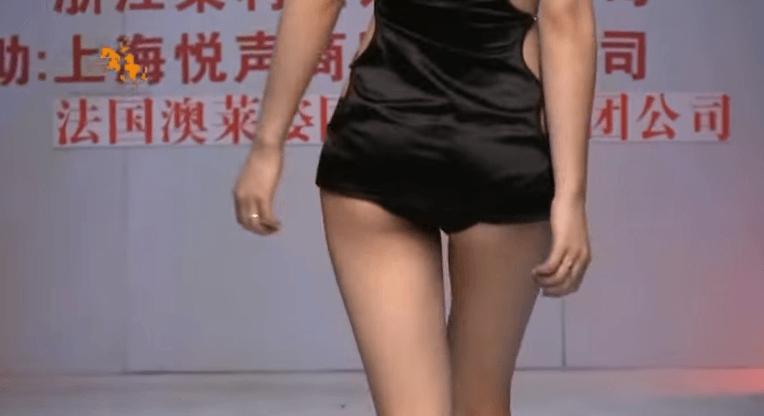 神ボディ!中国モデルの「劉敏林」の体つきが極上すぎてエロたまらん!3