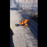 中国で買ったホバーボードが路上で爆発!!!!